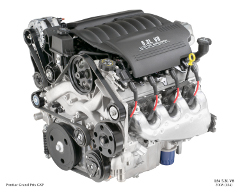 LS4 5.3L / 325ci Transverse-mounted V8 engine