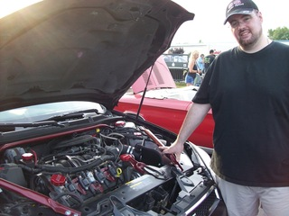Wes and his 2006 Impala SS with LS4 V8 Engine